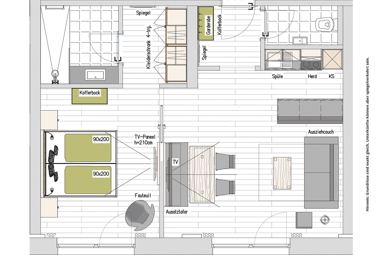 Kopeindlgut Wals bei Salzburg Apartment 2,3,6,7