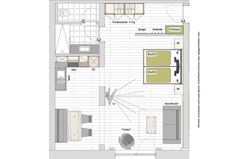Kopeindlgut Wals bei Salzburg Apartment-4,8