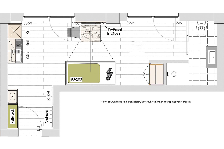 Kopeindlgut Wals bei Salzburg Apartment-9
