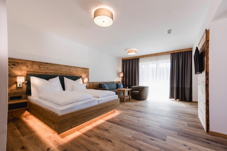 Kopeindlgut Wals bei Salzburg Apartment mit Doppelbett
