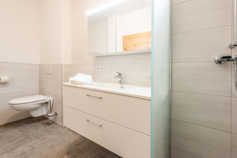 Kopeindlgut Wals bei Salzburg modernes Badezimmer